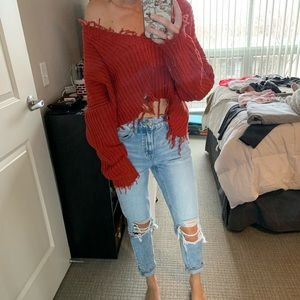 Vici Dolls cropped sweater